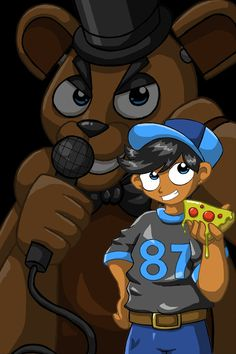 Five nights at freddys Freddy's ghoust child by xcelestialangelx on DeviantArt