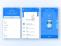 Hi everyone,  This app is provided to give you just order any water company. In the end water is coming to you  Checkout @2x and attach  Thanks for looking
