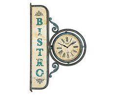 Relógio estação bistrot oldway