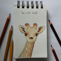 GIRAFFE for #365doodlesmitjohanna . Посвящается одному далекому близкому другу. . . #giraffe #illustration #drawing #giraffeillustration #coloredpencils #sketchbook #sketch #animalillustration #dailysketch #цветныекарандаши #иллюстрация #рисунок #жирафик #childrenillustration #kinderbuchillustration #dailyillustration #скетчбук #скетч #illustrationoftheday #practicemakesperfect