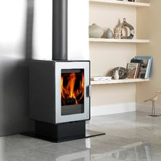 LogFire LF6SE Wood Burning Stove