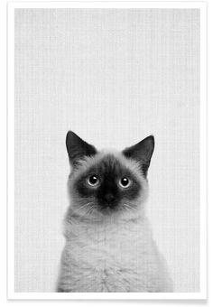 Print 71 en Affiche premium par Lila x Lola | JUNIQE