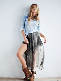 #Free People              #Skirt                    #Free #People #Romantics #Oldie #Goodie #Skirt      Free People FP New Romantics Oldie But A Goodie Skirt                                                   http://www.seapai.com/product.aspx?PID=1572624
