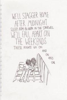 "Blink 182 ""After Midnight"""