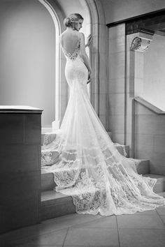 10 of the best wedding dress backs | Martina Liana