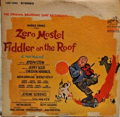 Zero Mostel In Fiddler On The Roof The Original by DorenesXXOO
