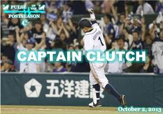 Pulse of the Postseason #4: CAPTAIN CLUTCH