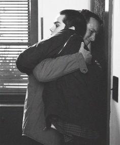 Stiles and his dad <3 love the Stilinski's