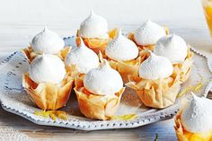 Little lemon meringue tarts