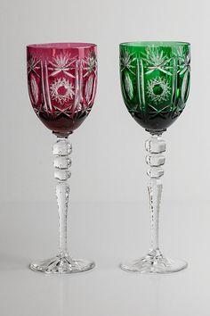 bohemian wine glasses | Crystal Wine Glass
