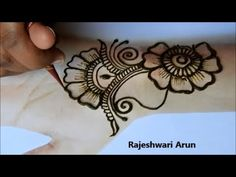 Mehndi Designs For Beginners, Arabic Mehndi Designs, Mehndi Patterns, Simple Mehndi Designs, Mehndi Designs For Hands, Mehndi Tattoo, Mehndi Art, Mehndi Brides, Simple Henna