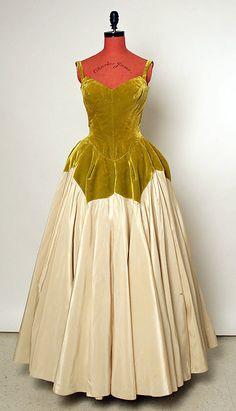 "1951 Charles James ""petal"" Gown"