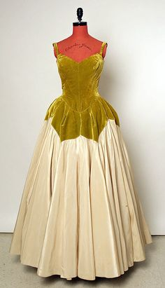 "~""Petal"" Evening gown by Charles James 1951~"