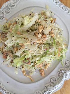 ENSALADA DE POLLO CON ADEREZO DE SEMILLA DE AMAPOLA #chickensalad #salads #greatsalads #goodfood