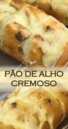 Receita de Pão de alho cremoso da Ana Maria Receita de um delicioso pão de alho para acompanhar carnes, saladas e churrascos PREÇO DO PÃO DE ALHO NO MERCADO (KG): R$ 23,50 PREÇO TOTAL DESTA RECEITA (KG): R$ 12,50
