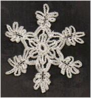 BRENDAS DESIGNS 1961: Sep. Free Crochet Snowflake Pattern
