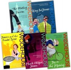 P G Wodehouse 5 Books Collection Pack Set