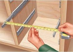 Building Drawers by Installing and Measuring the Drawer Slides First