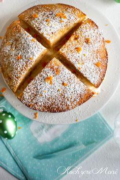Ein kleiner Orangen Sahnequark Kuchen von kochzereMoni