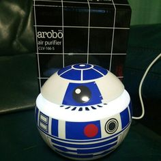R2-D2 Air Purifier/Cleaner Glico Japan Sweepsteaks Goods STAR WARS 987