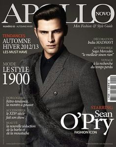 League of their Own–Photographed by Anthony Meyer, American model Sean O'Pry and Spanish model Jon Kortajarena cover the fall 2012 issue of Apollo Novo. Sean O'pry, Jon Kortajarena, Fashion Mag, Fashion Cover, Magazine Cover Design, Magazine Covers, Emily Didonato, Cover Boy, Prom Photos