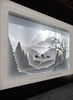 Clarks christmas window display by Harlequin Design Winter Window Display, Window Display Design, Wall Design, Display Windows, Christmas Window Display Retail, Shop Windows, Window Displays, Visual Merchandising Displays, Visual Display