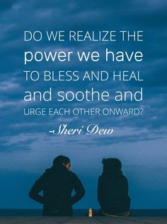 We have power to help others!