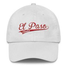 0ef5695480b El Paso Texas Red Classic Dad Cap