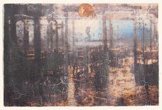 Elisabeth Werp - Nattvandrer mot morgenlys Elisabeth, Fine Art, Painting, Kunst, Painting Art, Paintings, Visual Arts
