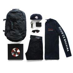 WEBSTA @ deustemple - Koleksi All Black.T-shirt Deus - Speed Shop BlackDeus…