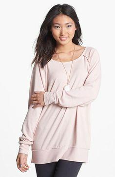 Rubbish® Tunic Sweatshirt (Juniors) available at #Nordstrom