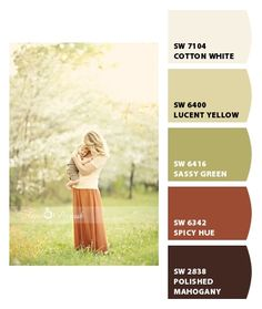 For outdoor photos I love when my clients coordinate their wardrobe to reflect an earth tone palette.  This image represents why this is so!