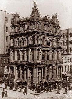 Vintage 1909, Fireman's Life Insurance Company Building, NYC, http://www.RevWill.com
