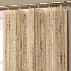 Bamboo Door Curtains: Beautiful Accessory And Room Divider