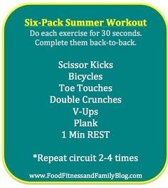 Six-Pack Summer Abs Workout lvogtsberger roldanxpro ab-workouts abs lose-weight abs six-pack-abs #i-m-a-work-in-progress