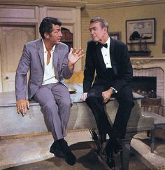The Dean Martin Show - Rehearsing with Jimmy Stewart, 1967