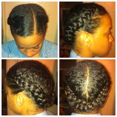 protective styles for transitioning, natural, & perm SN her edges are laid yes lawd !