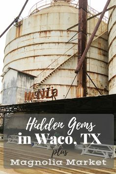Hidden gems in Waco, Texas.
