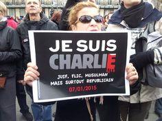 Charlie Hebdo: la marche républicaine à Paris en images