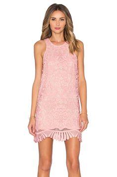 Lovers + Friends x REVOLVE Caspian Shift Dress in Pale Pink | REVOLVE