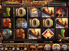 Pinocchio - http://freeslots77.com/pinocchio/ - You would definitely be wondered to see The Adventures of Pinocchio inside an online casino slot machine. Betsoft has relieved the old tale through the free online casino slot Pinocchio. The five-reel and fifteen-payline slot game includes some amazing bonus features and winning scopes. The...