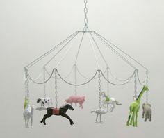 Plastic Animal Carousel
