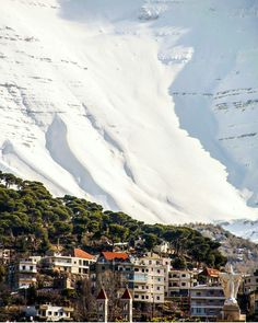 Waking up to a winter Wonderland in Lebanon