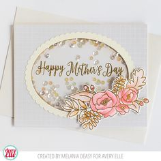 Melania and Elena created some fabulous cards for us to admire today. Take a look! I love the soft and pretty colors in this first c...