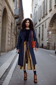 Zara striped trouser
