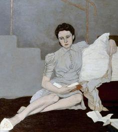 Girl in Grey (1939). Louis le Brocquy (1916-).