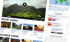 Travels on video: Documentaries, exotic destinations, bizarre food |