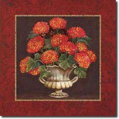 Cuadro Geraniums II - Gorham, Gregory