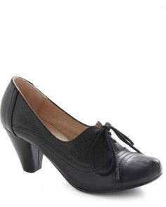 Right Here Heel in Black