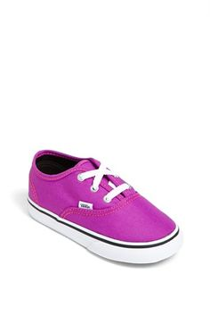 Vans 'Authentic' Neon Sneaker (Baby, Walker & Toddler) available at #Nordstrom